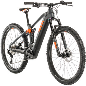 Cube Stereo Hybrid 120 Race 500, grey'n'orange
